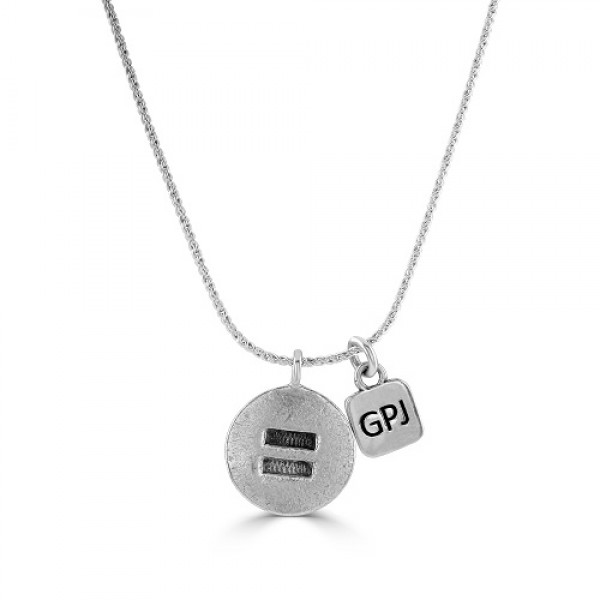Women's Gay Pride Equality Necklace